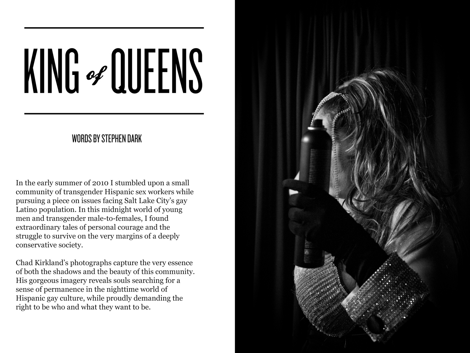 King of Queens editorial - Salt Lake City Weekly