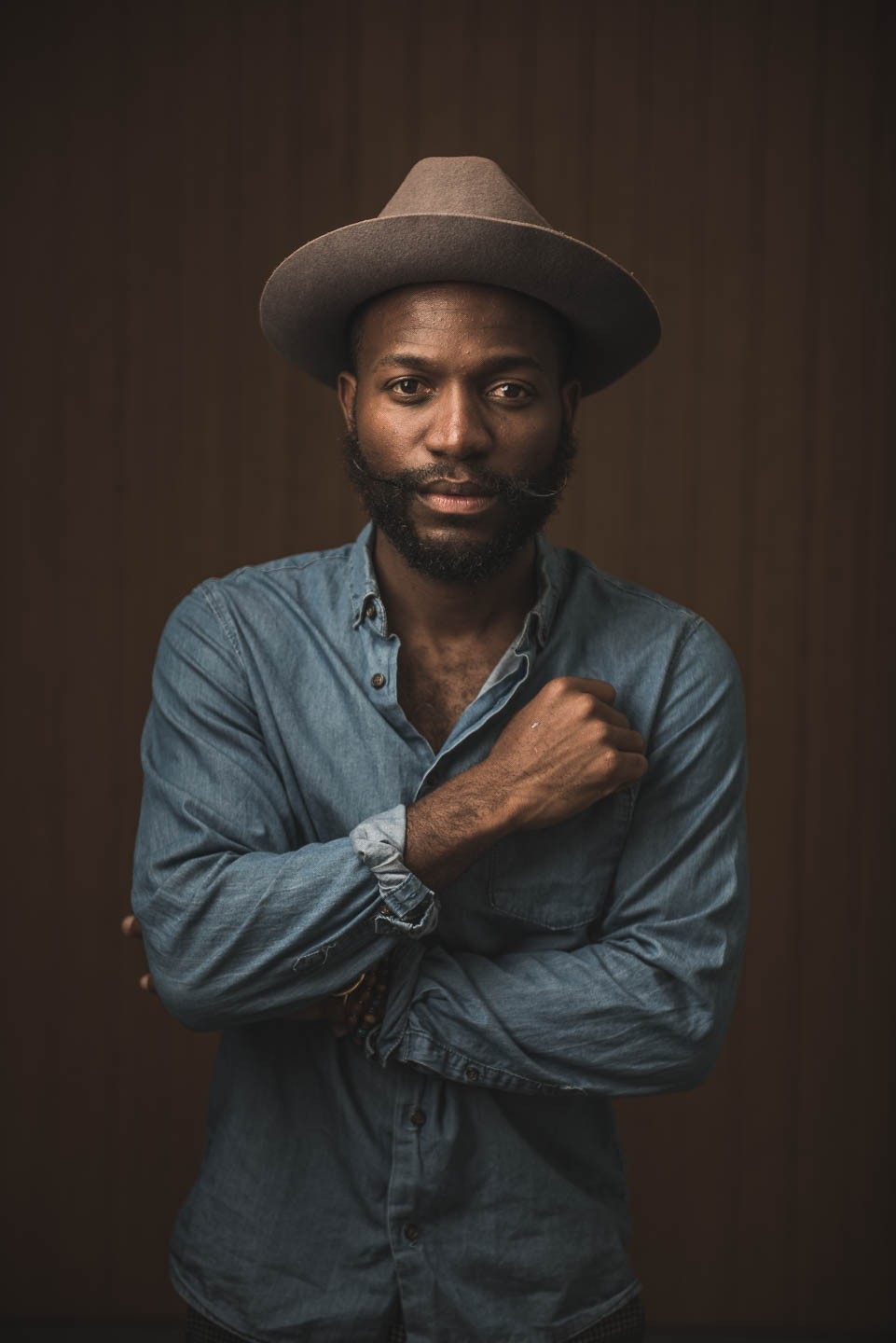 Editorial portrait of Salt Lake musician Joshy Soul