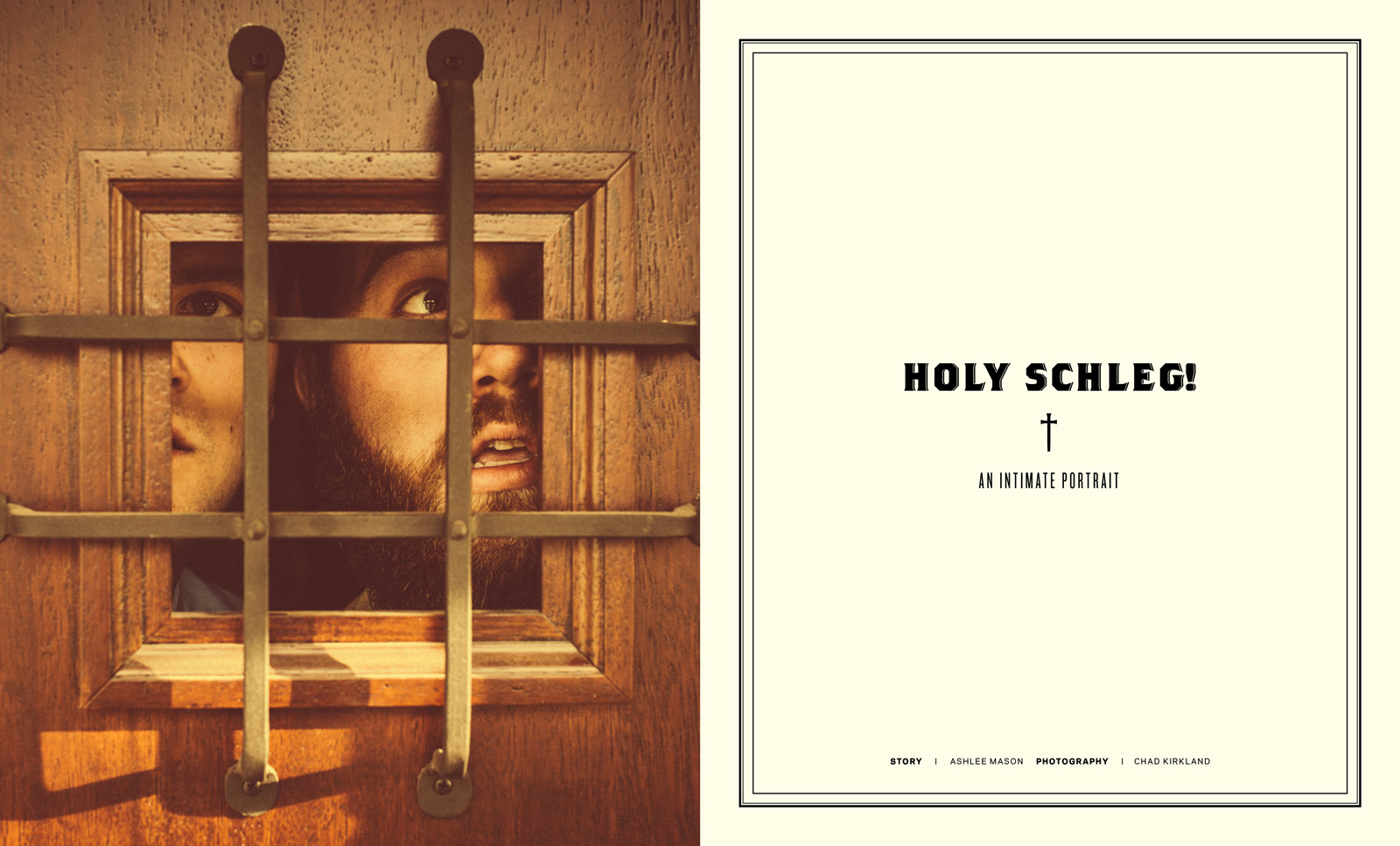 Holy Schleg editorial for Revolv Magazine - Salt Lake City Utah