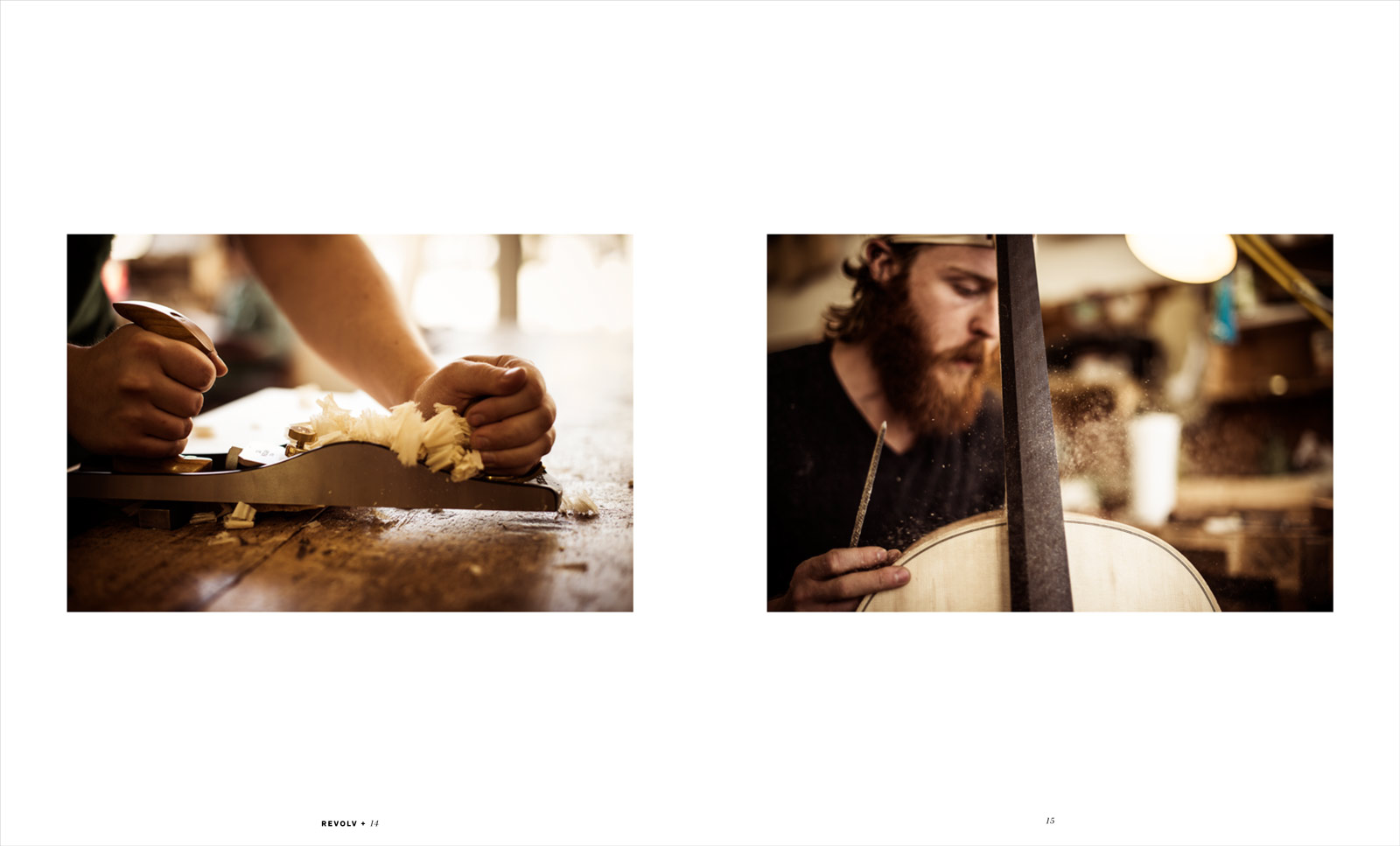 Violin Making School of America editorial for Revolv Magazine - Salt Lake City, Utah.