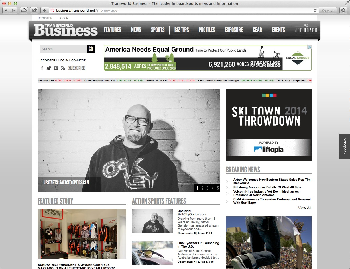 Transworld Business Salt City Optics Story