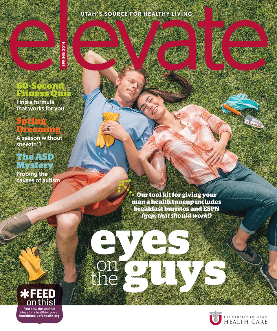 Elevate magazine editorial for University of Utah Healthcare